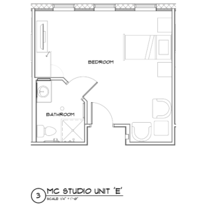Memory Care Alcove floor plan